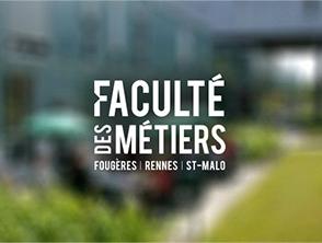 Faculté ds métiers Rennes Saint-Malo
