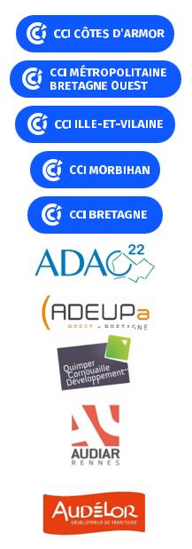 Logos CCI et agences
